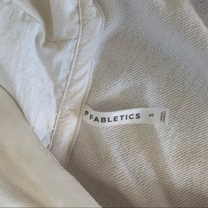 Fabletics crop hoodie S